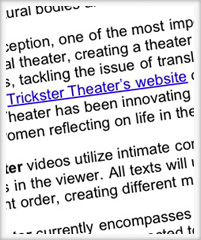 Trickster Theater - New Channel on Youtube Continued