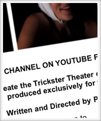 Trickster Theater - New Channel on Youtube